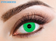 Lime Green Fashion Contact Lenses