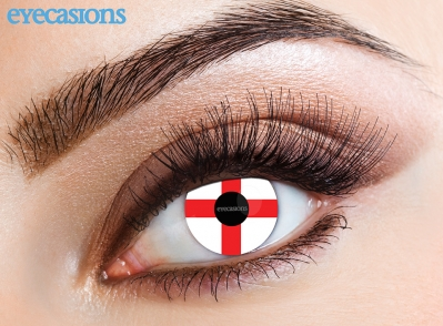 St Georges Cross Fashion Contact Lenses