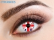 Union Jack Fashion Contact Lenses
