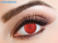 Red Mesh Fashion Contact Lenses