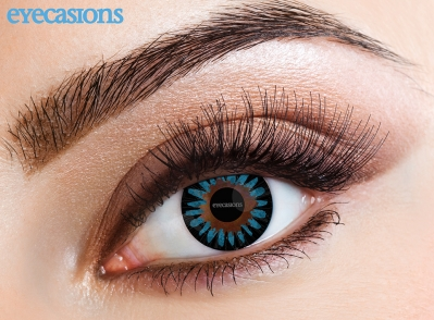 Misty Blue Fashion Contact Lenses