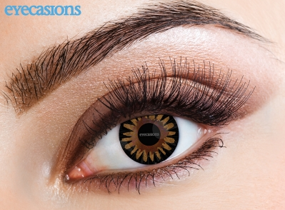 Misty Brown Fashion Contact Lenses