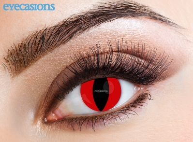 Red Cat Fashion Contact Lenses