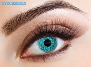 One Tone Aqua Fashion Contact lenses