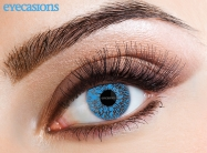 One Tone Blue Fashion Contact lenses
