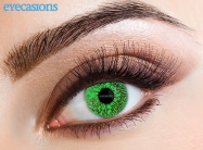 One Tone Green Fashion Contact lenses