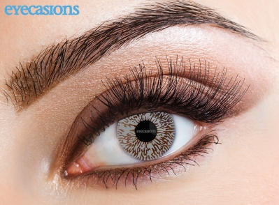 One Tone Grey Fashion Contact lenses
