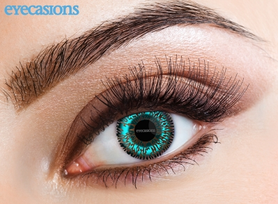 Two Tone Aqua Fashion Contact lenses