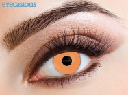 Uv Orange Fashion Contact Lenses