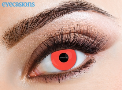 Uv Red Fashion Contact Lenses