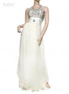 Bridal Maxi Dress in White