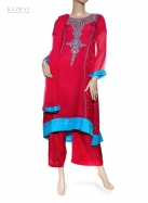 Casual Salwar Kameez in Deep Pink