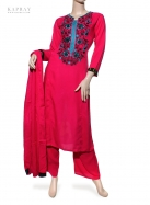 Casual Salwar Kameez in Red