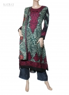 Casual Salwar Kameez with Animal Print