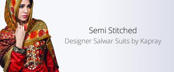 Semi Stitched Suits