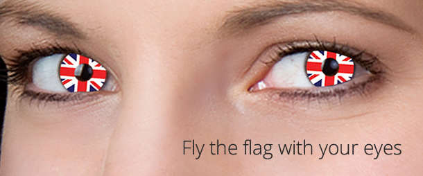 Fly the flag with your eyes